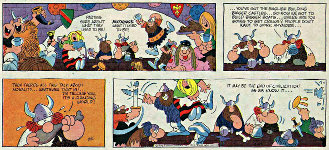 Hagar the Horrible 'End of Civilization as We Know it.' (February 25, 1973)