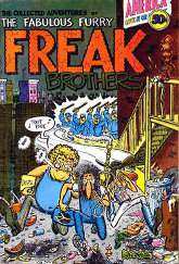 'Fabulous Furry Freak Brothers' No. 1 cover. (1971) (low-resolution thumbnail)