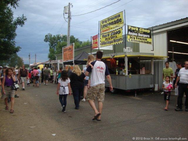 Stearns County Fair. (July 28, 2012)