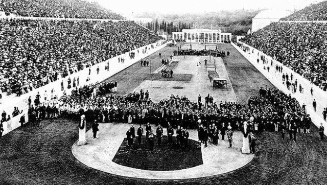 'Zappas Olympics' opening ceremonies. (1896)
