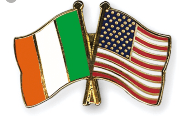 US Irish Flag