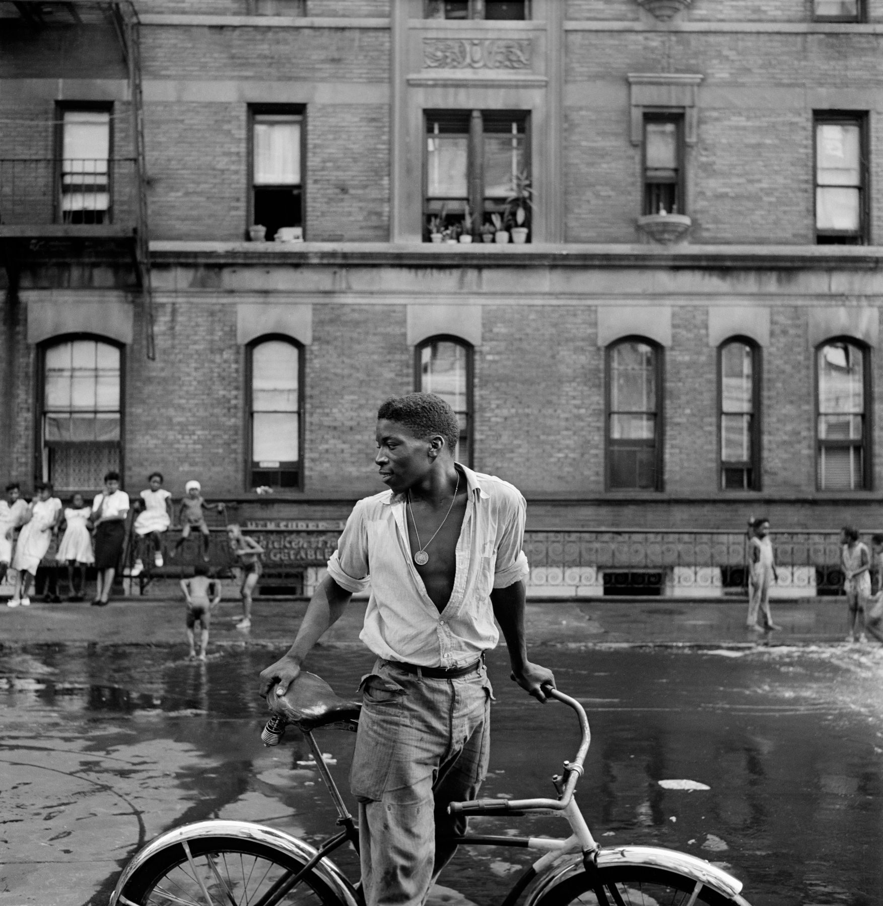 Harlem Gang Leader, 1948. Gordon Parks, Gordon Parks Foundation