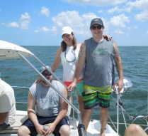 Jason Patterson, Brenda and Danny Webb
