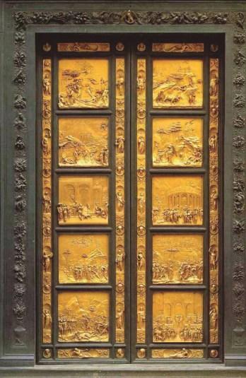 Las puertas del paraíso Ghiberti 1425-1452