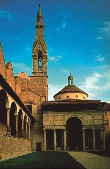 Capilla Pazzi Florencia, Italia 1441