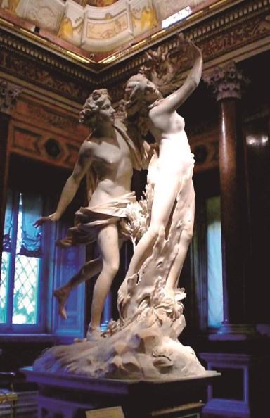 Apolo y Dafne Bernini 1622-1625 Galería Borghese, Roma