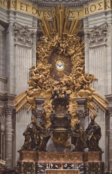 La Cátedra de San Pedro Bernini Roma