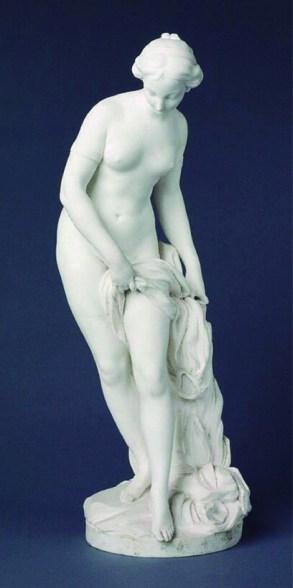 La bañista Falconet Museo de Louvre París
