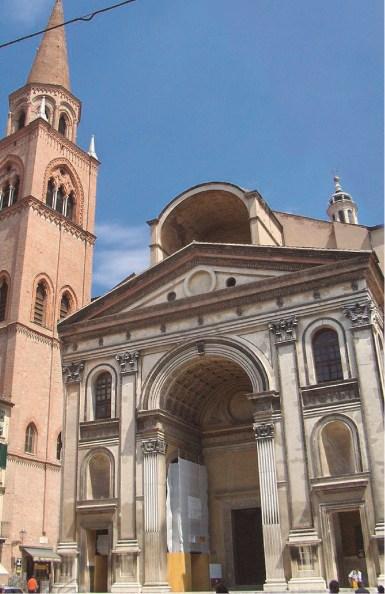 Basílica de San Andrés Mantua, Italia 1462-1790