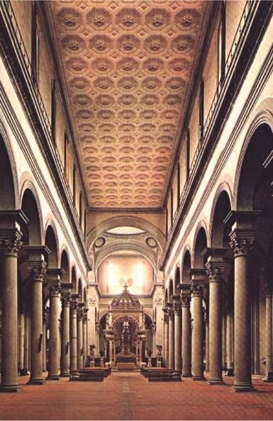 Basílica del Santo Spirito Florencia, Italia 1444