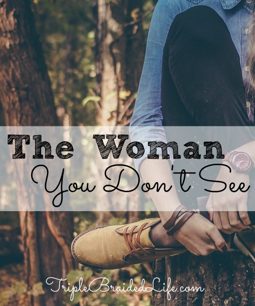The Woman You Don't See 1000x1200