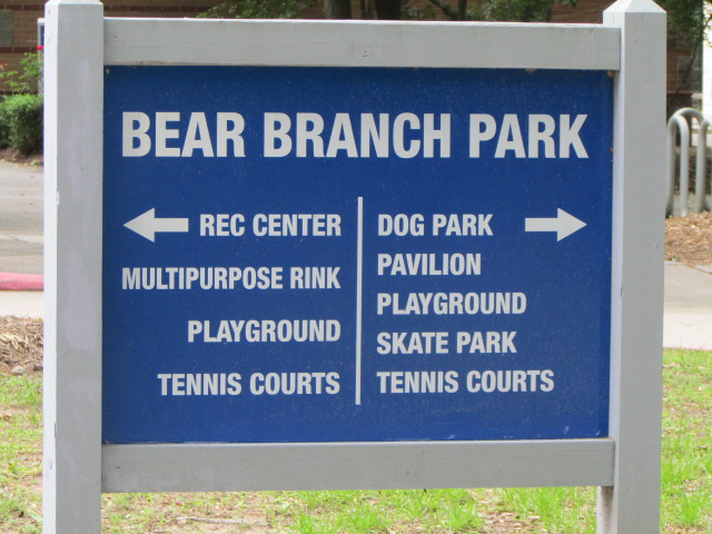 Entrance Directions - Go right for the Dog Park
