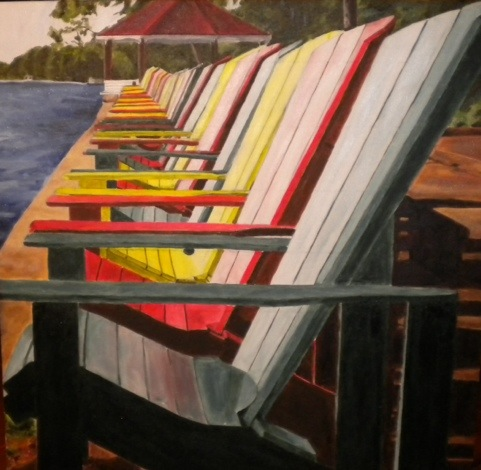 Muskoka Chairs January 22, 2012