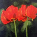 """Poppies"" Brenda Stonehouse 8"" x 10"" limited edition prints available."