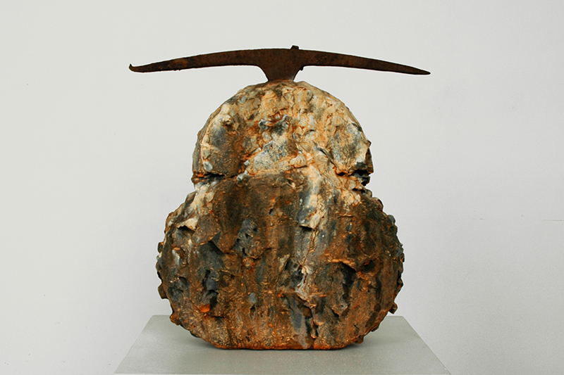 Brenda Stumpf, mixed media abstract sculpture
