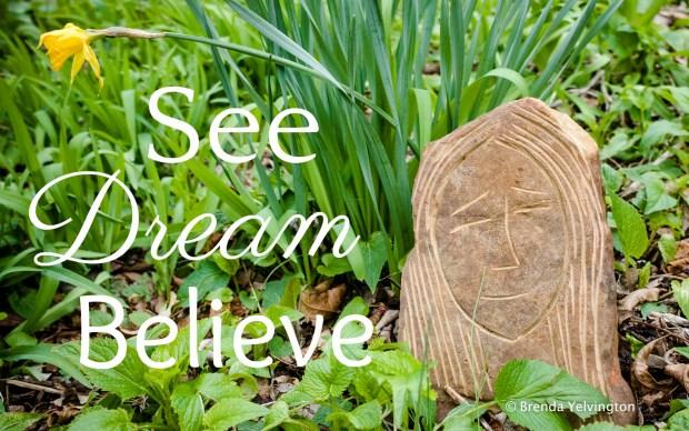 see dream believe logo-