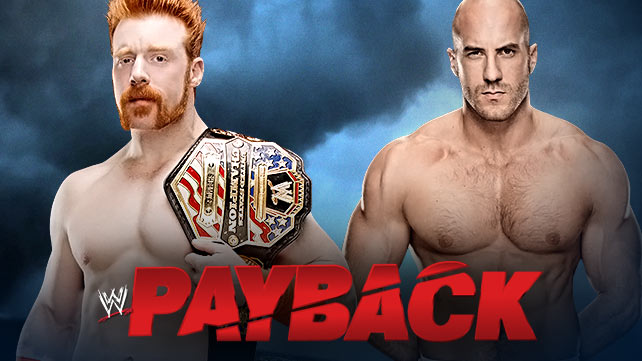 Payback 2014: Sheamus (c) vs Cesaro – United States Championship