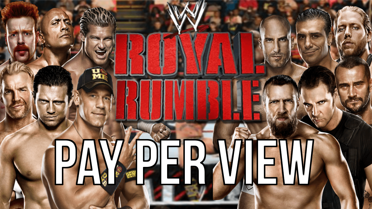 WWE 2k14 Universe Mode #44 – The Royal Rumble PPV