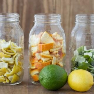 DIY All-Natural Orange Vinegar for Cleaning