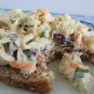 Emily's 7-C's (or Seven Seas?) Chicken Salad Recipe