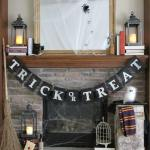 PB Inspired Trick or Treat Halloween Banner & Harry Potter Decorations