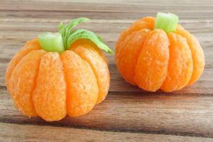 BrenDid Tangerine Pumpkins