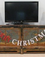 """Must try! Easy and Affordable Christmas Decorations: PB Inspired Merry Christmas Banner – Make a Pottery Barn Inspired """"Merry Christmas"""" Banner from glitter cardstock, bakers twine and tape for $3.64. That's 84% off of the retail price of $22. Free printable pattern, Silhouette cut file and easy directions at BrenDid.com"""