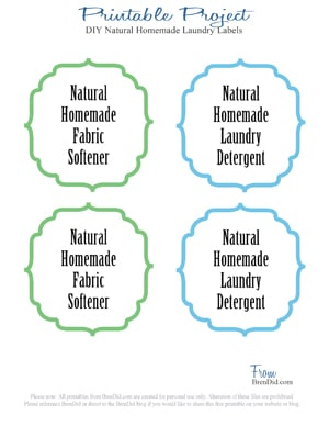 Natural homemade fabric softener leaves your clothes soft and static free without leaving a chemical film and artificial fragrance on your laundry. It's easy and affordable to replace your current fabric softener with a more natural alternative.