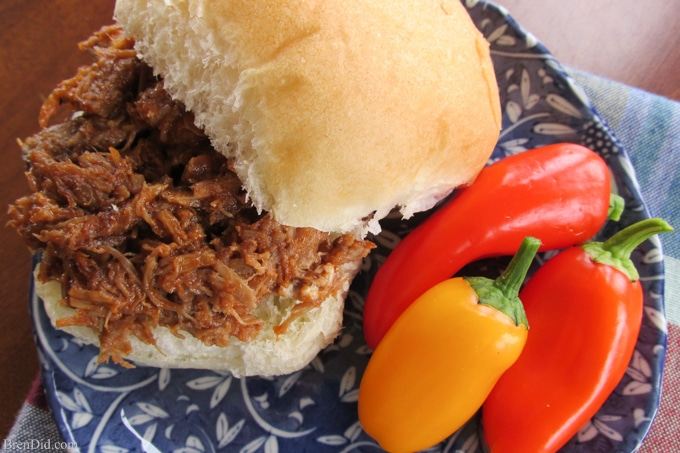 Easy Crock Pot Dinners Braised Beef Barbeque-6