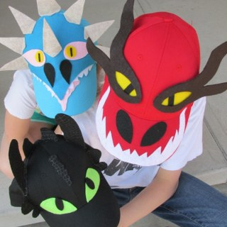 How to Train Your Dragon Easy Baseball Hat DIY with Free Printable Pattern