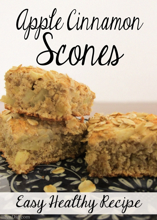 Easy Apple Oatmeal Scones and Jane Austen Inspired Movies
