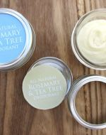DIY All Natural Deodorant Stop using unhealthy antiperspirant! Learn how to make easy all-natural deodorant that fights body odor with naturally anti-bacterial and anti-fungal ingredients. DIY Deodorant Tutorial from BrenDid.com