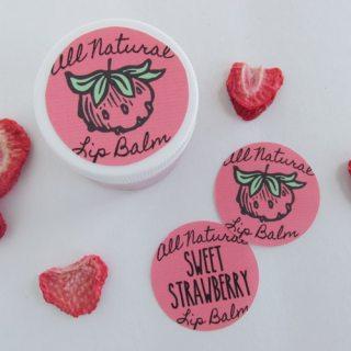 DIY Sweet Strawberry Lip Balm Recipe