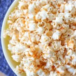 Sriracha Honey Caramel Popcorn Recipe