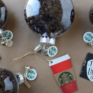 Holiday Craft Idea: Coffee Bean Ornaments