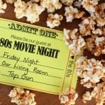 80's Family Movie Night
