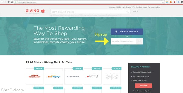 The Giving Assistant is the best way to save money and give to charity while you shop online. Learn how to save money and give with this easy tool at no cost to you! https://givingassistant.org/?rid=fkgQAbimT8