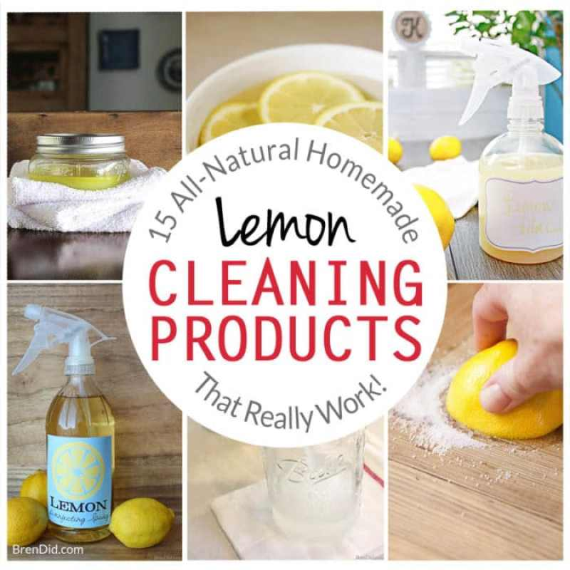 Homemade Lemon Cleaning Products, All-Natural Lemon Cleaners, How to Clean with Lemons, Lemon Cleaning, Green Cleaning, All-Natural Cleaing