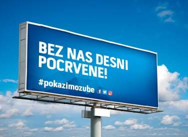 #PokazimoZube