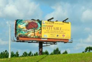 """Billboard for """"Winds of Time"""""""