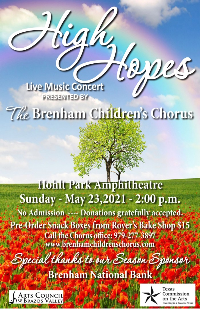 High Hopes Spring Concert