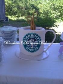 Starbucks Grooms Cake