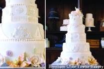 white and pearl elegant wedding