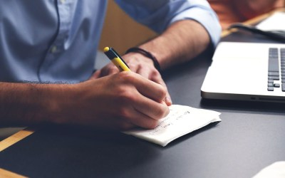 How Writing Helps Me Talk About What I Do