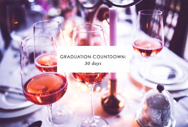 Countdown to Graduation: 30 days