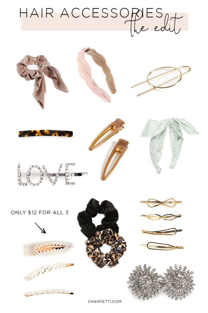 Hair Accessories: The Edit