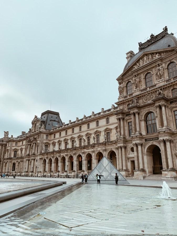 The Louvre Museum Paris - Brenna Anastasia
