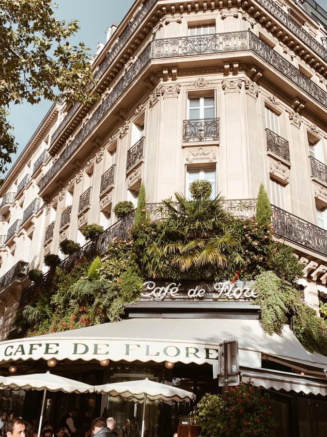 Café de Flore Paris - Brenna Anastasia