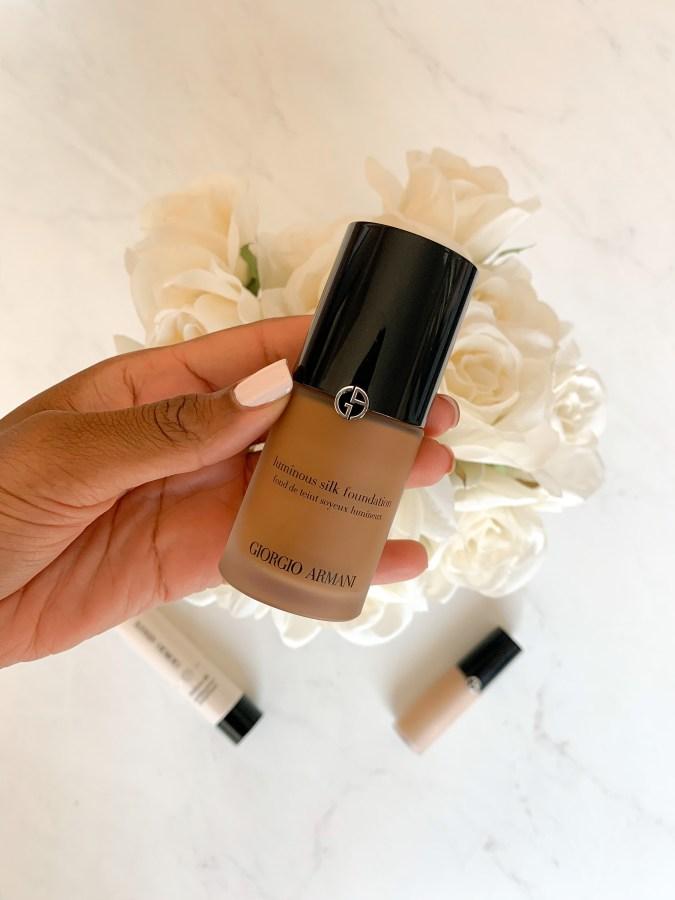 Armani Beauty Luminous Silk Foundation - Brenna Anastasia