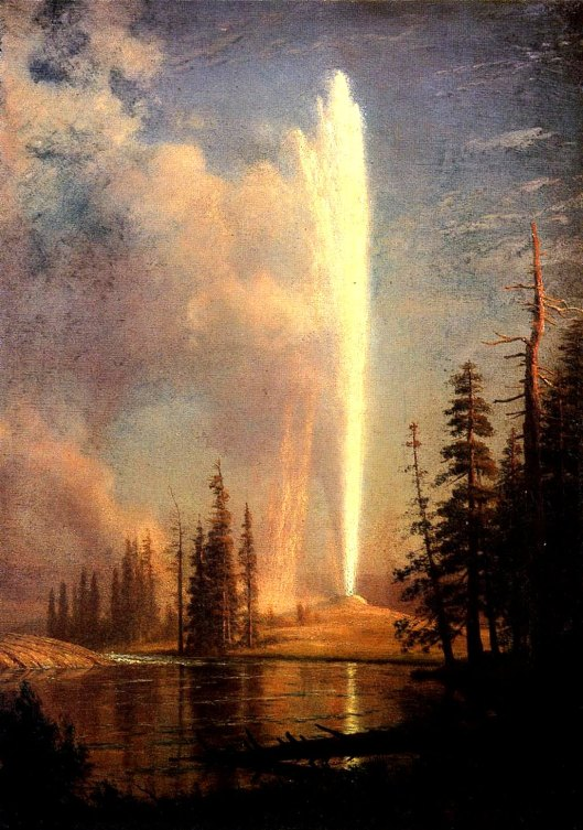 Old_Faithful_Albert_Bierstadt